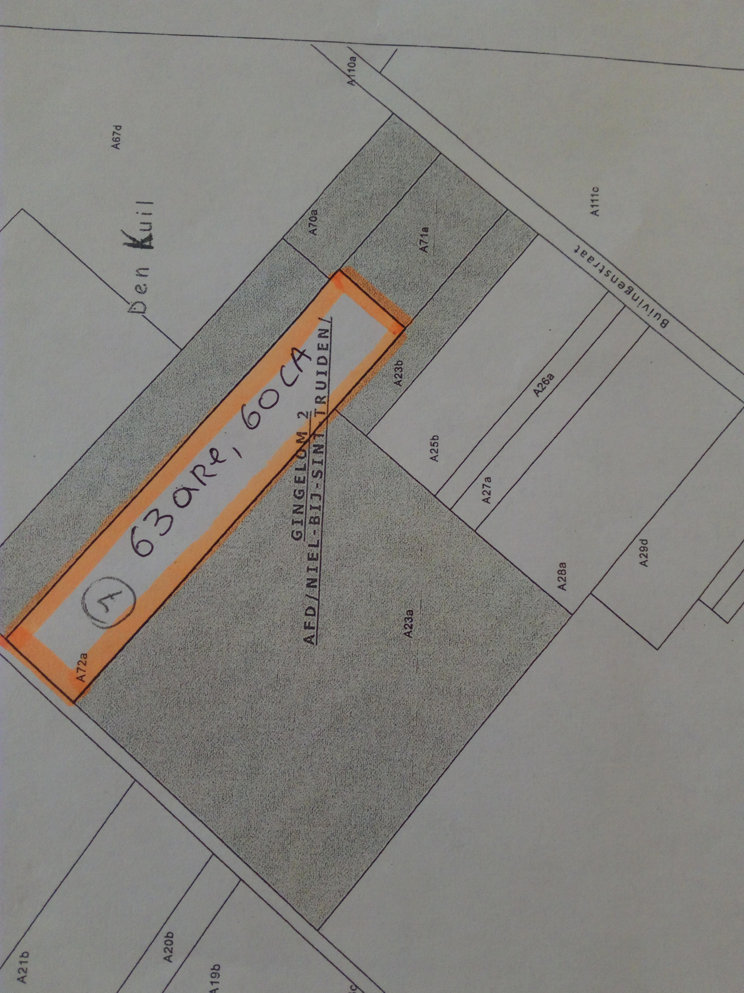 Landbouwgrond in Gingelom 2, afd / Niel -bij-St. Truiden