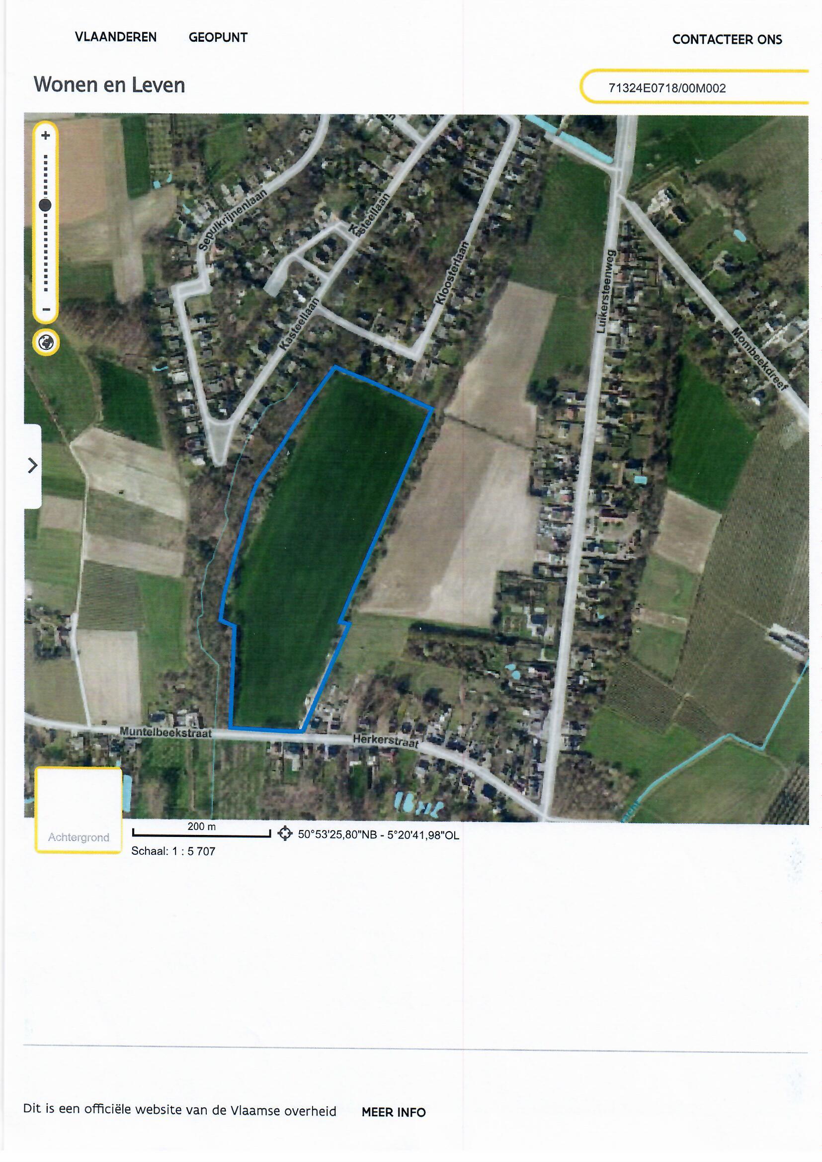 Te koop : landbouwgrond in Hasselt